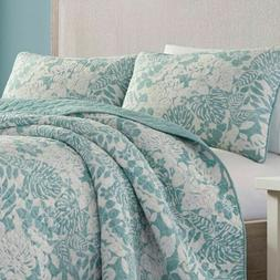 Tommy Bahama Reversible Quilt Set - King - 3 Piece