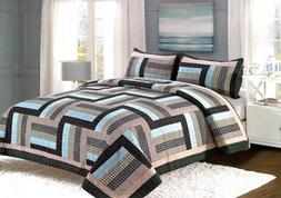 ridgecrest quilt set king queen 3 piece