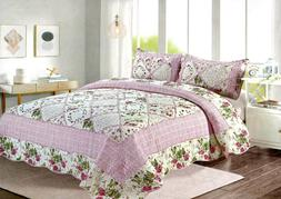 rosalie quilt set king queen 3 piece