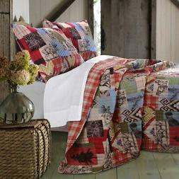 Rustic Lodge Quilt Set by Greenland Home Fashions