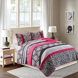 Quilt Set Twin/Twin XL Bedding Set - Sally - Teen Girl 2 Pie