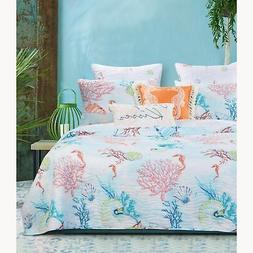 Barefoot Bungalow Sarasota Reversible Quilt Set With Shams -
