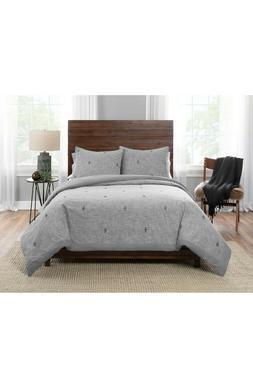 Pendleton Sedona Comforter & Sham Set Gray Size Full/Queen -