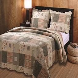 Greenland Sedona Sham, King, Multicolor