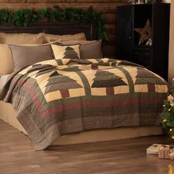 SEQUOIA QUILT SET-choose size & accessories-Cabin Christmas