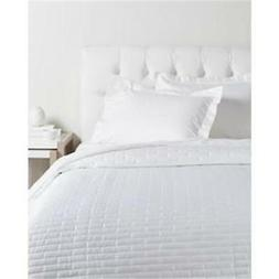 Sesto Full Queen Quilt Coverlet Set Ivory by Sferra Egyptian