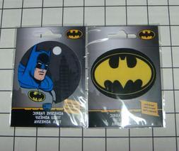 Set of 2 DC Comics Batman Ad-Fab™ Peel & Stick Adhesive Fa