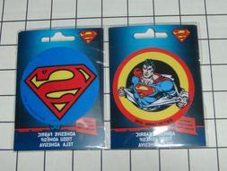 Set of 2 DC Comics Super Man Steel Ad-Fab™ Peel & Stick Ad