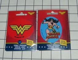 Set of 2 DC Comics Wonder Woman Ad-Fab™ Peel & Stick Adhes