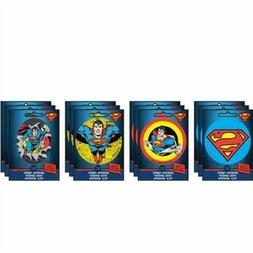 Set of 4 DC Comics Super-Man Ad-Fab™ Peel & Stick Adhesive