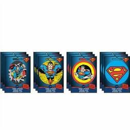 Set of 4 DC Comics Super-Man Ad-Fab™ Peel & Stick Adhesive
