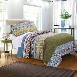 Shangri-La Quilt Set by Greenland Home Fashions