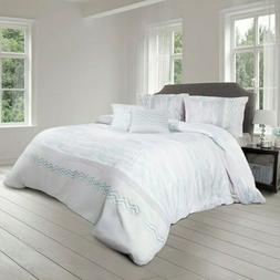 Shatex 5 Pieces Bedding Comforter Sets King Set– Ultra Sof
