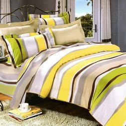 springtime luxury 5pc comforter set combo 300gsm