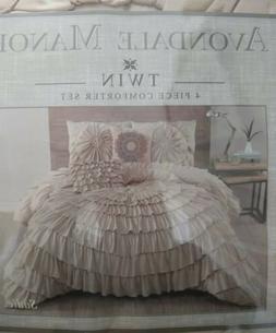 Avondale Manor Style Sadie 4 Piece Comforter set twin Size R