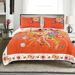 Barefoot Bungalow Topanga Quilt and Sham Set