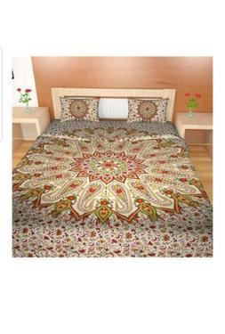 Traditional Mafia RSES339004 Quilt Set 3 Piece,  Boho, Manda