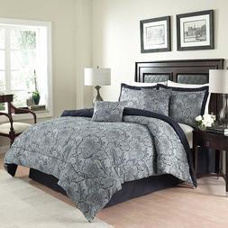 Traditions by Waverly 6-Piece Paddock Shawl Comforter Set Ki