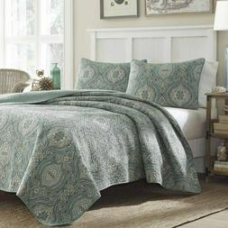 Tommy Bahama Turtle Cove Full/Queen Quilt Set Brand New 3pc