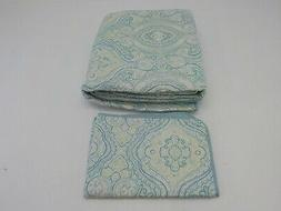 Tommy Bahama Turtle Cove Quilt Set, Twin, Aqua