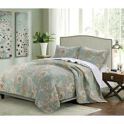 Barefoot Bungalow 2 Piece Twin Naomi Spa Quilt Set