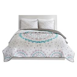 COMFORT SPACES Twin Quilt Set - Ari Twin Bedspread/Quilt Set