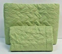Bedsure Twin Quilt Set Basket Weave Pattern Quilt And Sham G