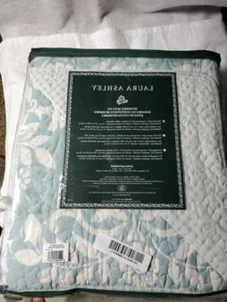 Laura Ashley Twin Rowland 2 Pcs Quilt Set Blue