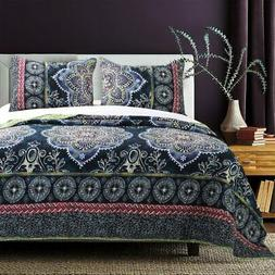 Twyla Midnight Quilt Set by Barefoot Bungalow