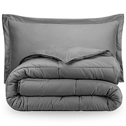 Bare Home Ultra-Soft Premium 1800 Goose Down Alternative Com