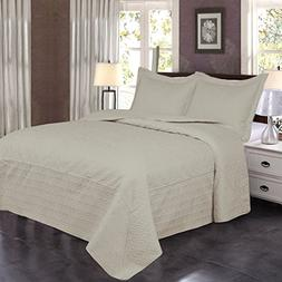 Jml Ultrasonic Quilt Set King Size - Brushed Microfiber - So