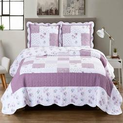 Ventura 3-Piece Oversized Bedspread Coverlet Set