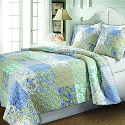 vintage jade quilt set king