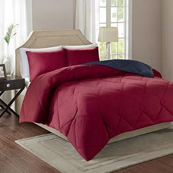 Comfort Spaces Vixie Reversible Goose Down Alternative Comfo