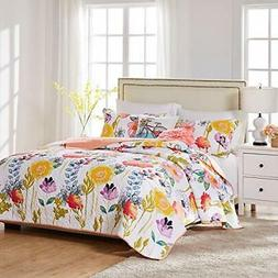 watercolor dream quilt set 3 piece king