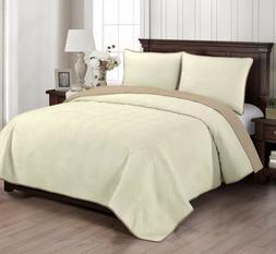 Brielle Home® Wave Reversible Quilt NEW