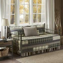 Woolrich Winter Plains 5 Pc. Bedding Set, Size: Daybed , Bei