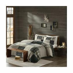 Woolrich Winter Hills Quilt Mini Set Cal King Tan