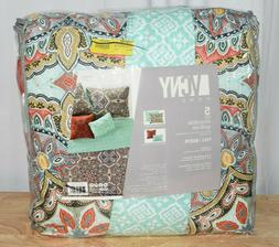 YARA 5PC QUILT SET -MULTI