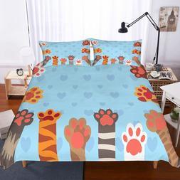 Yi Chu Xin 3d cat Bedding <font><b>Set</b></font> <font><b>c